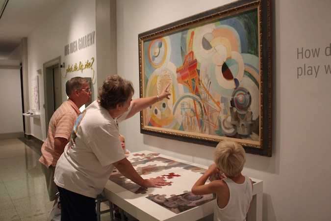 Families at Columbus Museum of Art