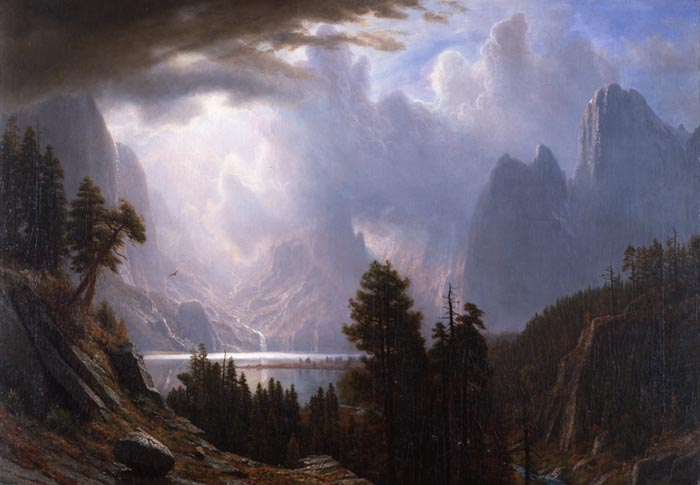 Bierstadt King Lake California