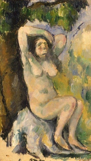 Cezanne Bather