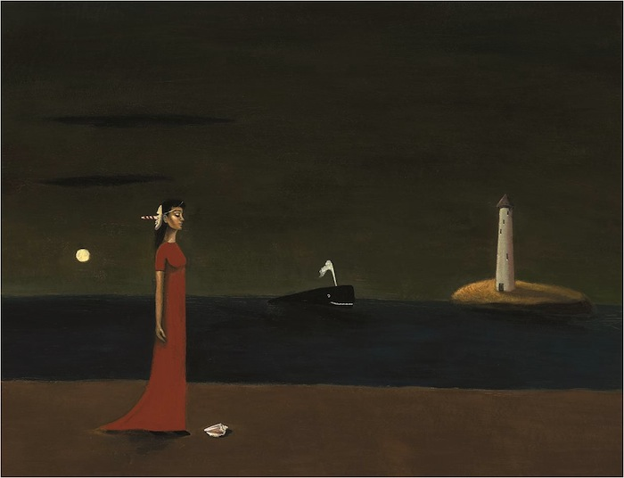 Night Arrives by Gertrude Abercrombie, 1948, John and Susan Horseman Collection