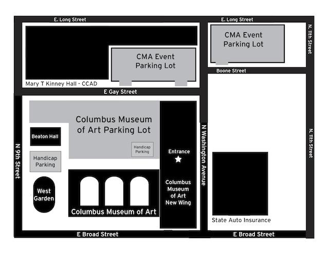 CMA Parking Map