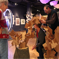 Build a cardboard tree