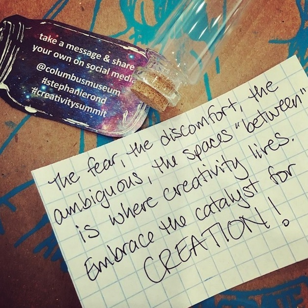 Reflections on the Creativity Summit