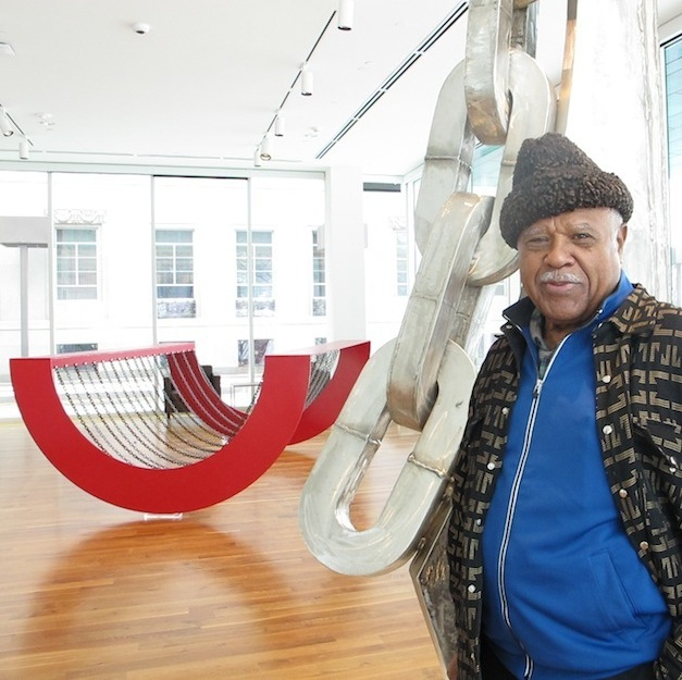 Q & A with Sculptor Melvin Edwards