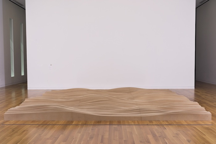 Topographic Landscape by Maya Lin