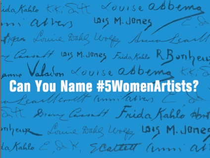 #5WomenArtists