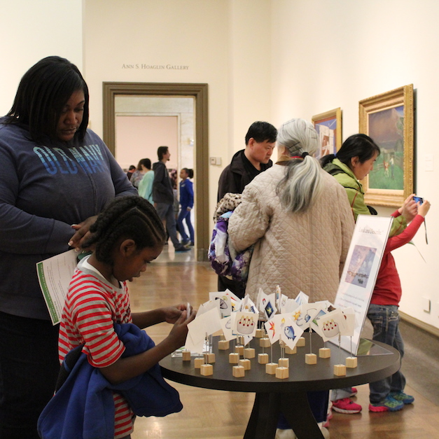 2017 Columbus City Schools Day for Families at Columbus Museum of Art