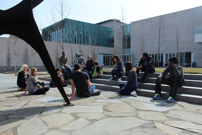 Art Lab in the CMA sculpture garden