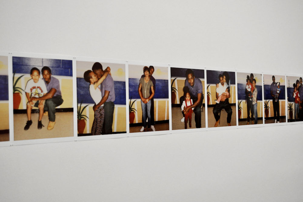 Deana Lawson, Mohawk Correctional Facility: Jazmin & Family, 2013. Pigment Print, 11 5/16 x 8 7/8 inches. Columbus Museum of Art, Ohio: Museum Purchase with funds provided by The Contemporaries.