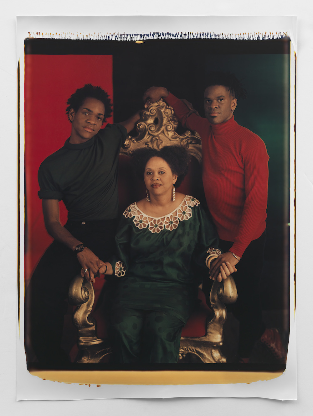 Lyle Ashton Harris, Mother and Sons II, 1994. Courtesy of the artist and Salon 94, New York.