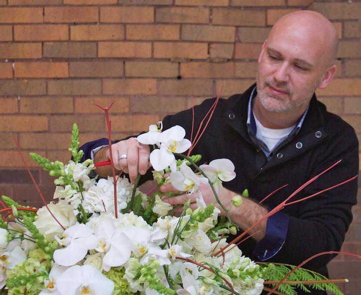 Floral Designer Brian Coovert