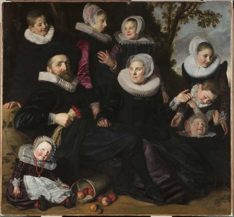 Frans Hals (Dutch, 1582/83–1666), The Van Campen Family in a Landscape (fragment)