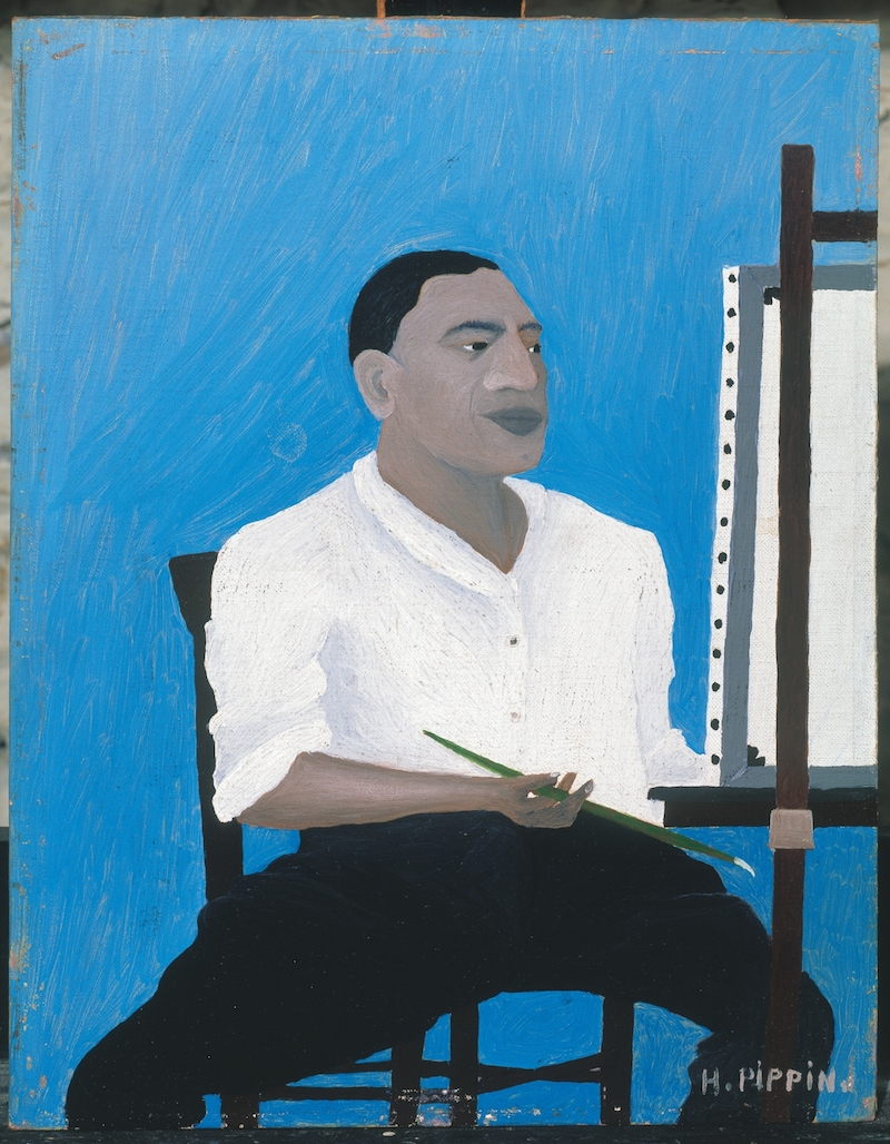 Horace Pippin, Self-Portrait, 1941, Albright Knox Art Gallery / Art Resource, NY, © Estate of Horace Pippin