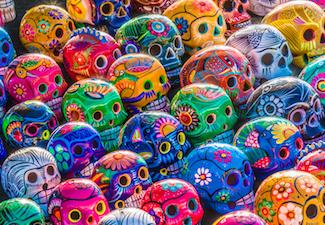 Wednesdays2 Dia De Los Muertos Folk Art