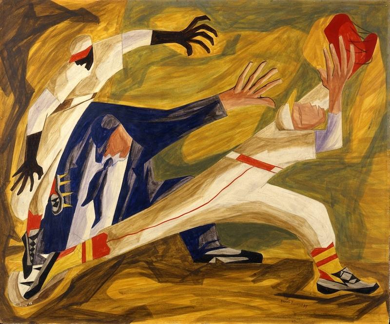 Jacob Lawrence, The Long Stretch, 1949, Collection Allan Kollar, Seattle, WA