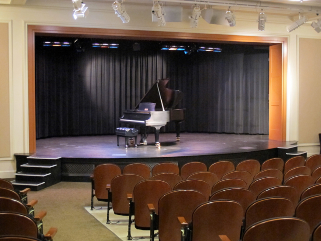 Cardinal Health Auditorium with Piano