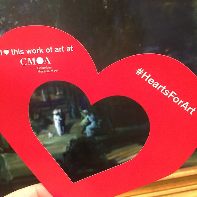 #HeartsforArt Returns