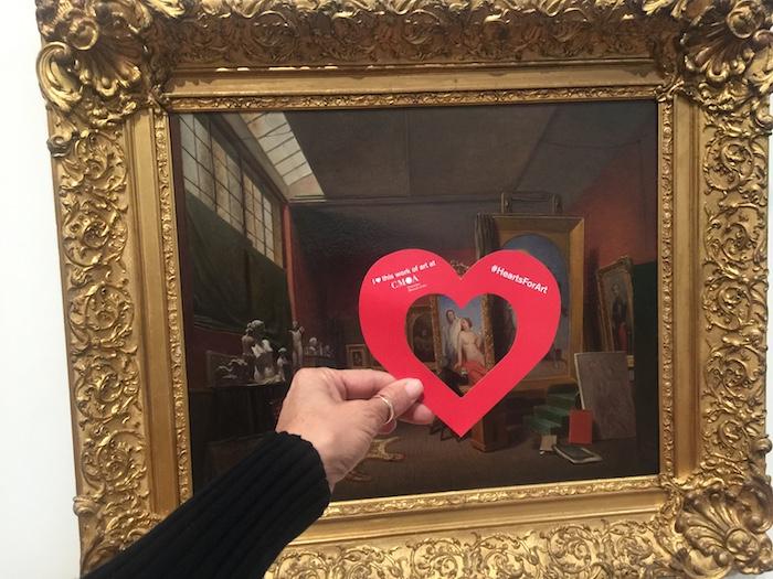 #HeartsforArt