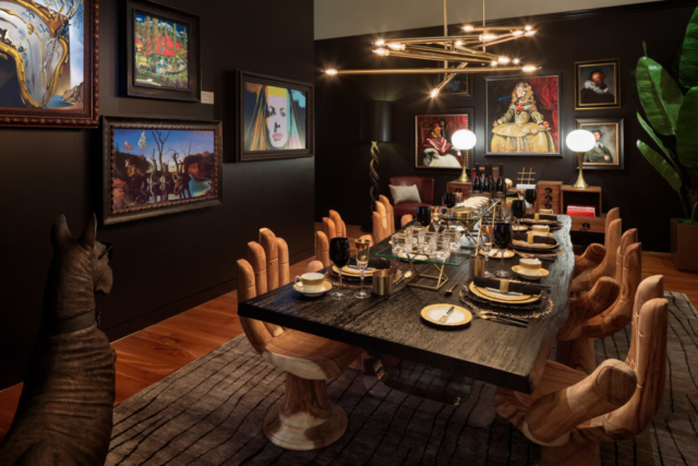Decadent Dining Room by Danny Russo, Daniel Russo Home