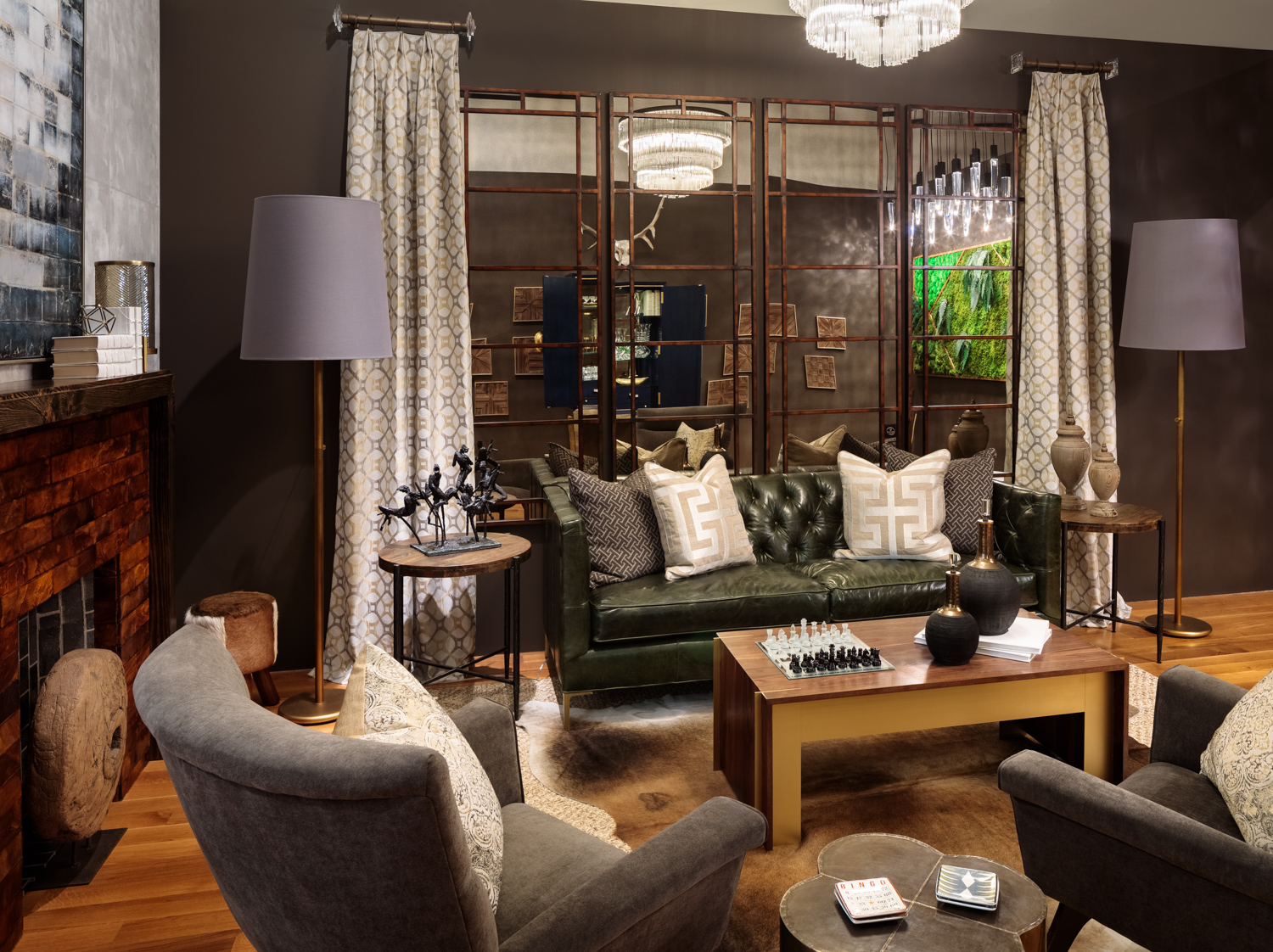 Game Room by Kim Pheiffer, KPDesigns and Associates
