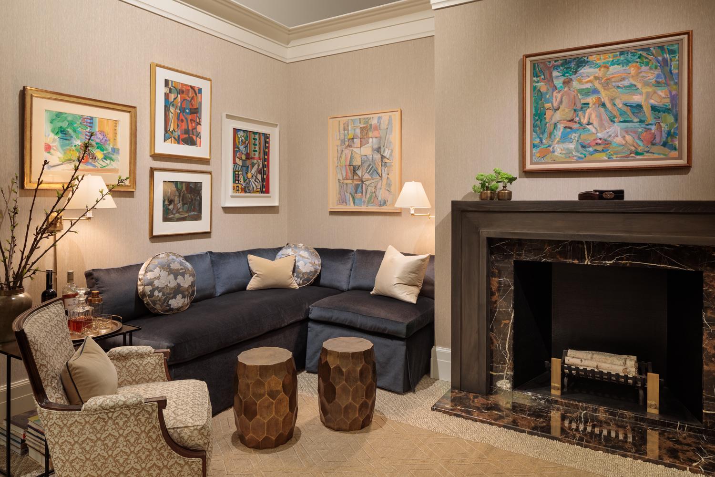 Living Room by Mark Huffman, Huffman and Huffman