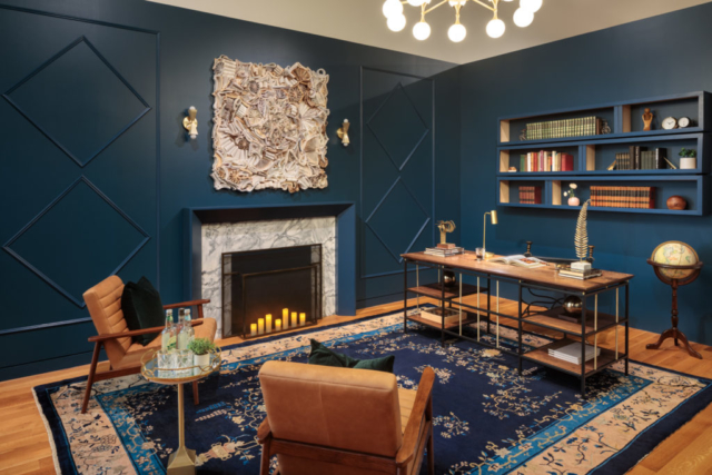 Library/Office by Catherine & Bryan Williamson, Mixed Design Collective