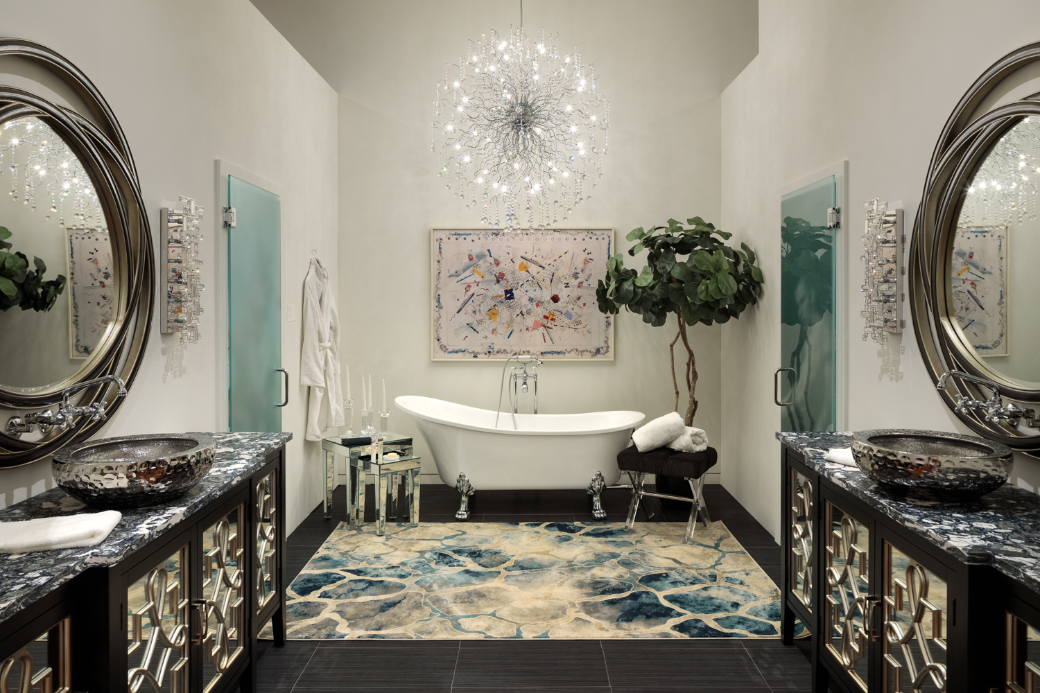 Bathroom by Neal Hauschild, Nth Degree Home