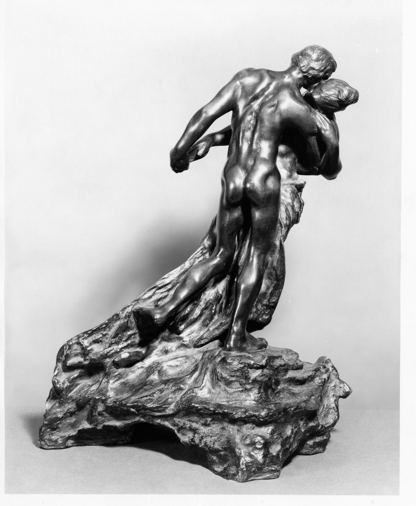 Camille Claudel, The Waltz, modeled after 1890; cast 8, date of cast unknown, Bronze; Eugene Blot Foundry Lent by Iris Cantor