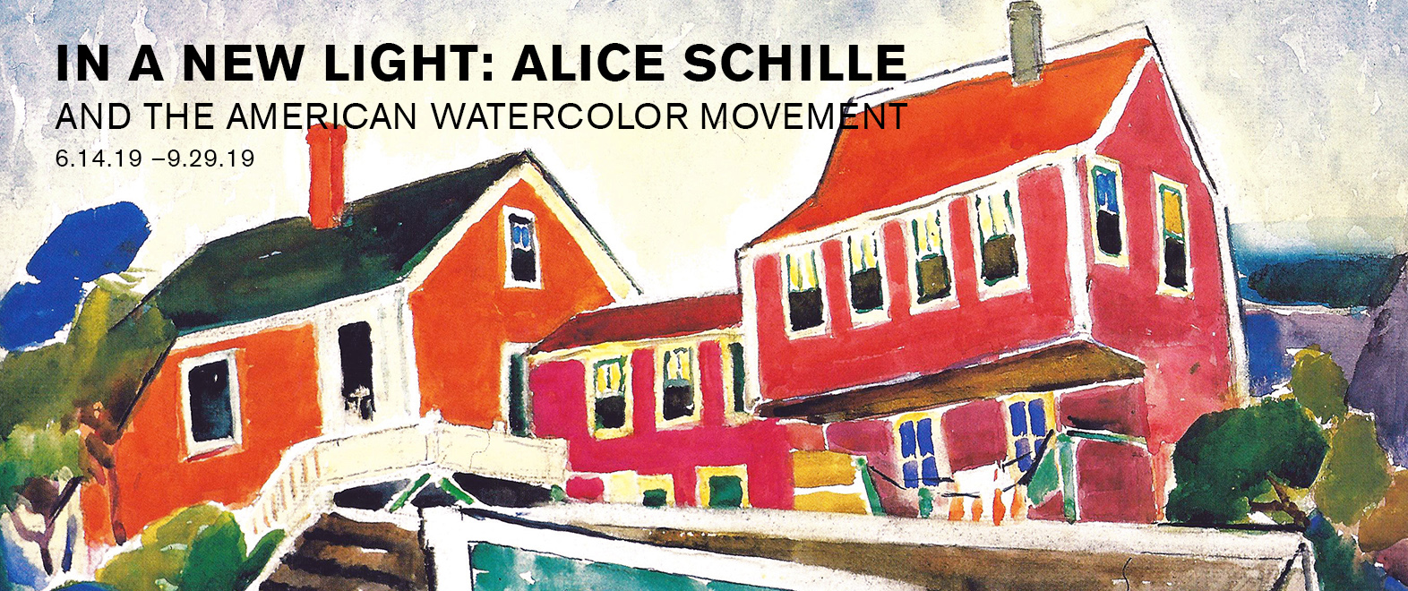 In a New Light: Alice Schille and the American Watercolor Movement