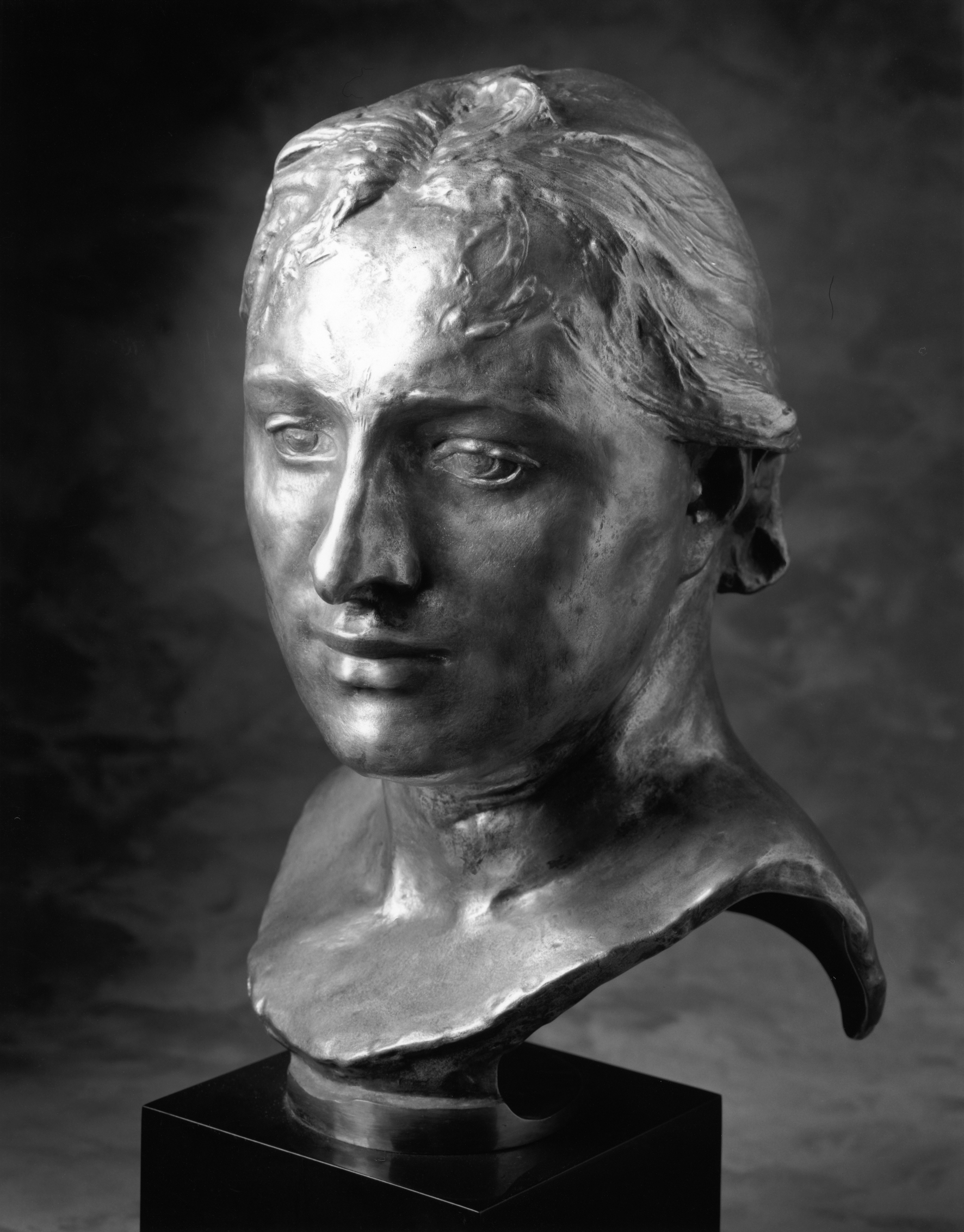 Auguste Rodin, Mrs. Russell modeled 1888; Musée Rodin cast 11, 1993 Bronze; Georges Rudier Foundry Lent by Iris Cantor