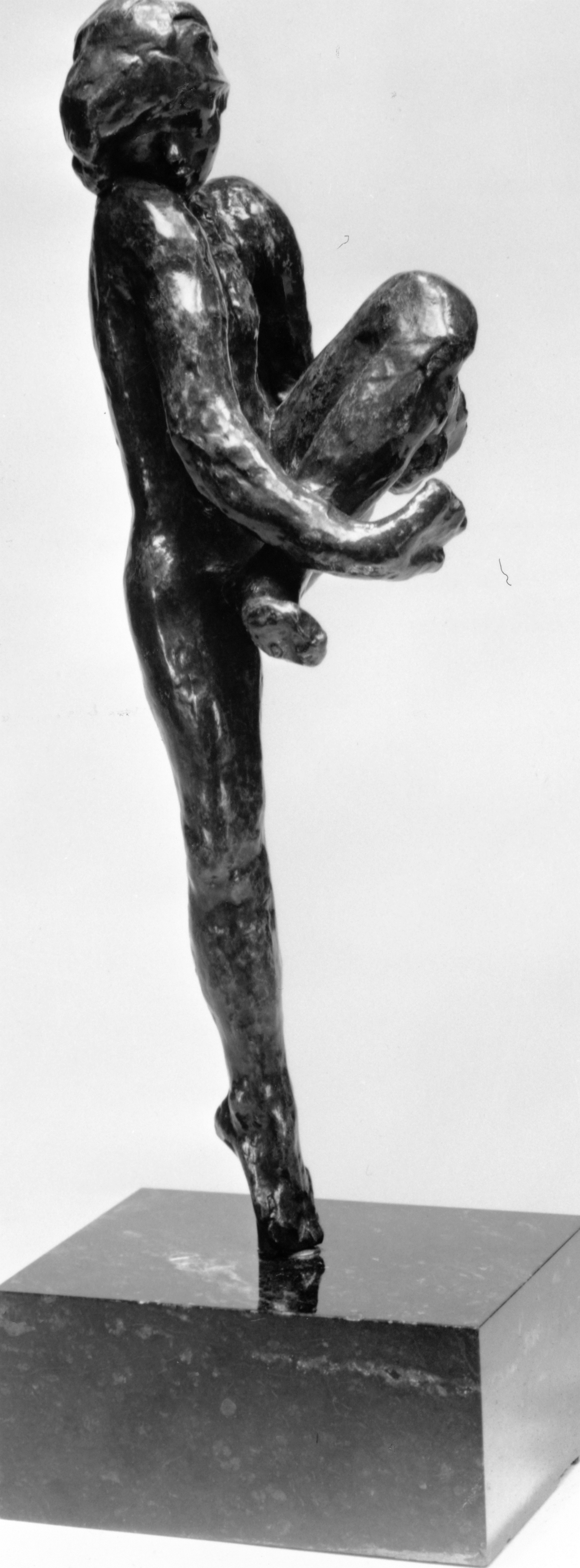 Auguste Rodin, Dance Movement D modeled about 1910–11; cast 1, date of cast unknown Bronze; possibly Alexis Rudier Foundry Lent by the Iris & B. Gerald Cantor Foundation