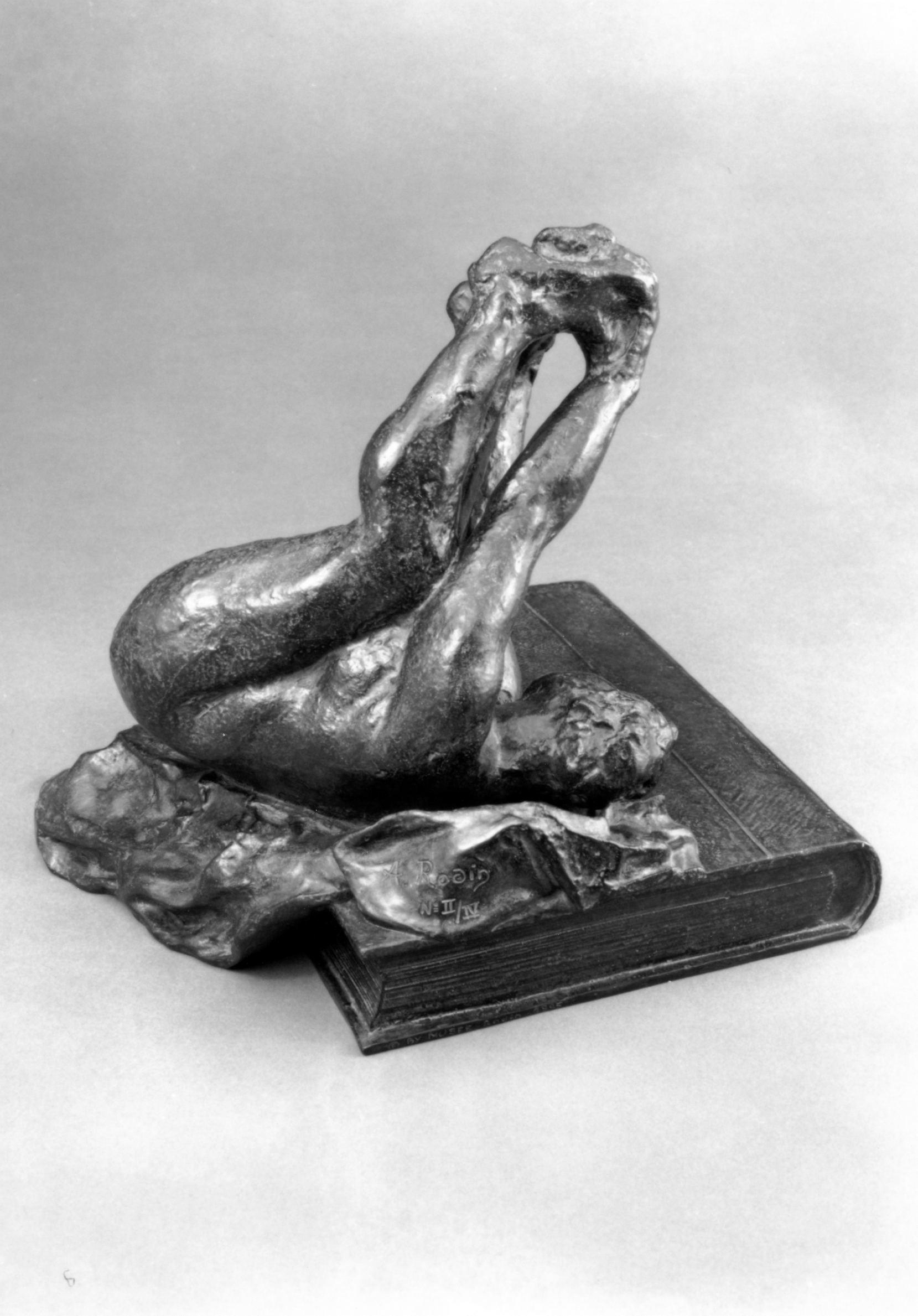 Auguste Rodin, Ecclesiastes modeled 1898; Musée Rodin cast II/IV, 1995 Bronze; Godard Foundry Lent by the Iris & B. Gerald Cantor Foundation