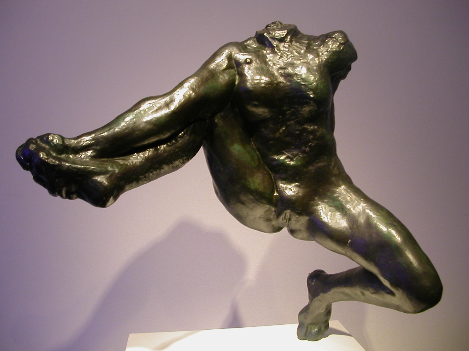 Auguste Rodin, Iris, Messenger of the Gods modeled 1891; cast number and date of cast unknown Bronze; Georges Rudier Foundry Lent by Iris Cantor