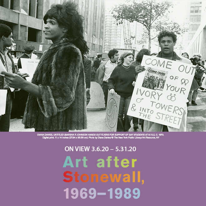 Art After Stonewall mobile