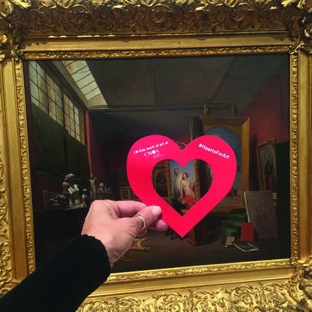 Calling Museums and Galleries: Join Columbus Museum of Art for #HeartsforArt