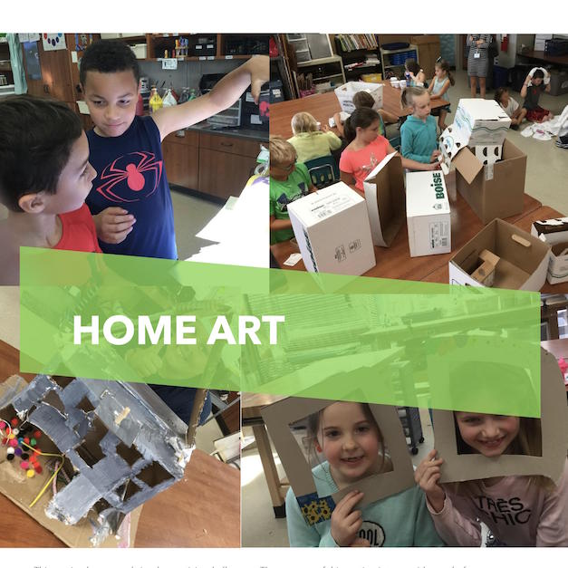Learn at Home Creativity Challenges
