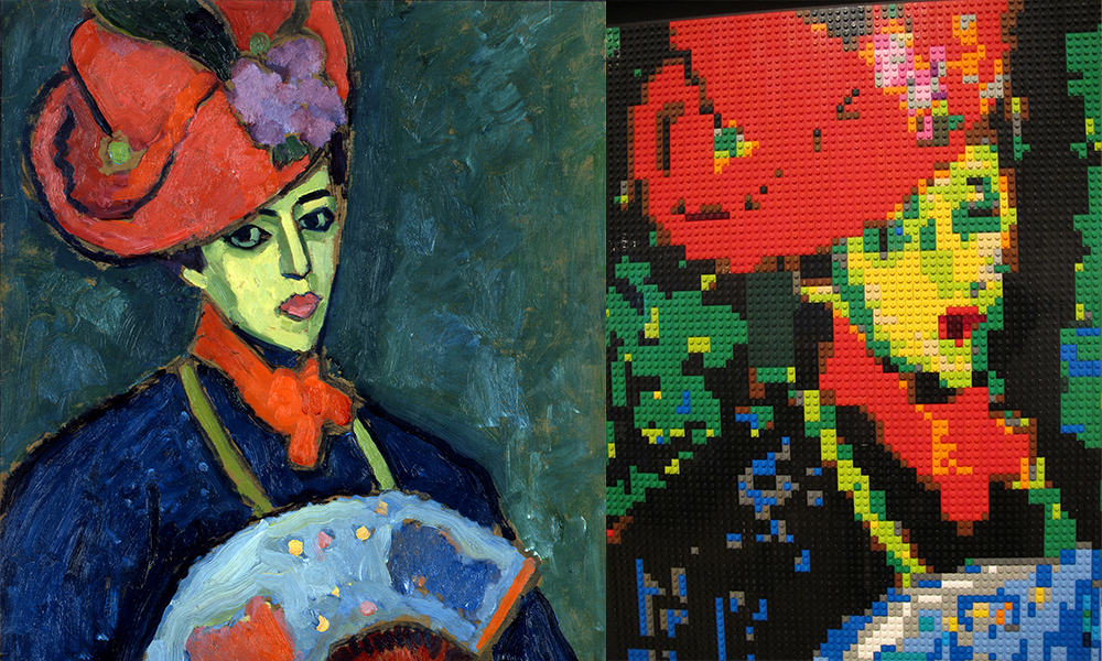 Alex Jawlensky, Schokko with Red Hat, 1909, Gift of Howard D. and Babette L. Sirak