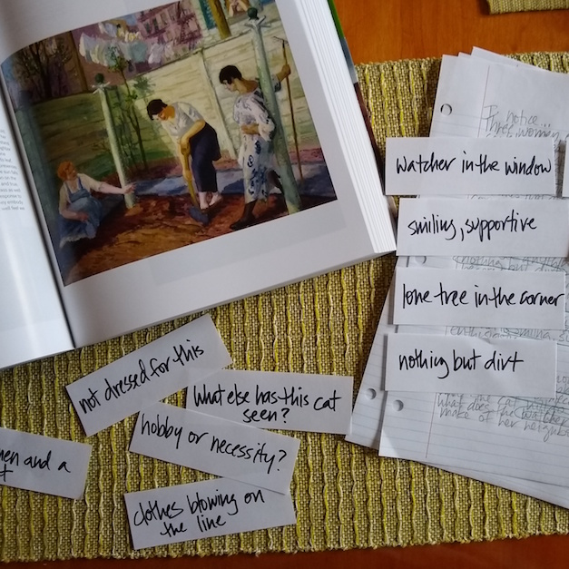 Art and Poetry: Playing with Words
