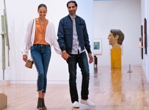 walk with art image