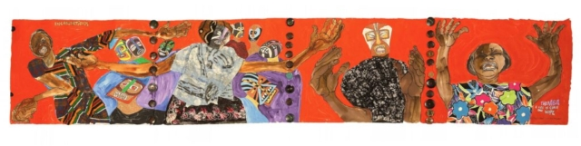 Aminah Robinson, Incantations (from Themba: A Life of Grace and Hope series), 1996-2012. Estate of the artist.