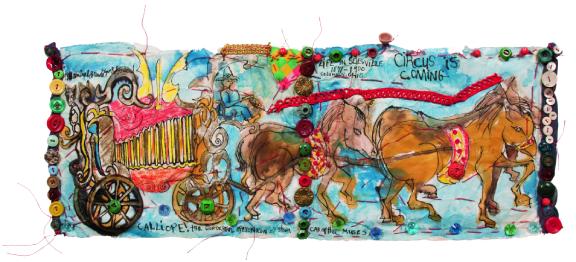 Aminah Brenda Lynn Robinson, Circus is Coming, 1988