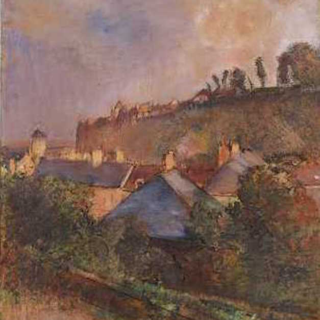 Pocketguide to CMA: Degas' Houses at the Foot of a Cliff (Saint-Valéry-sur-Somme)