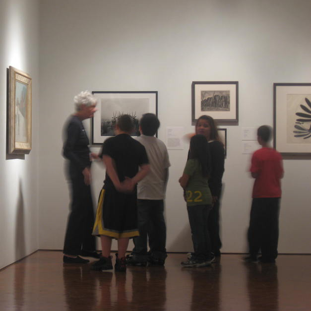 What's a docent to do when there are no tours?!
