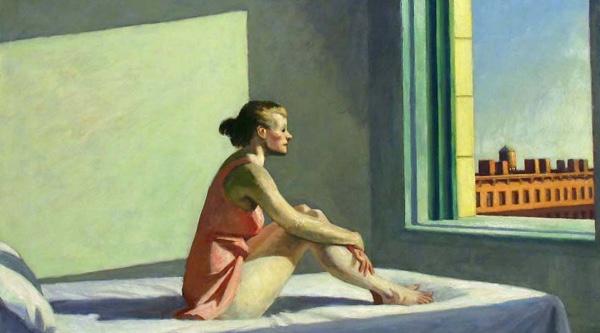 Edward Hopper, Morning Sun
