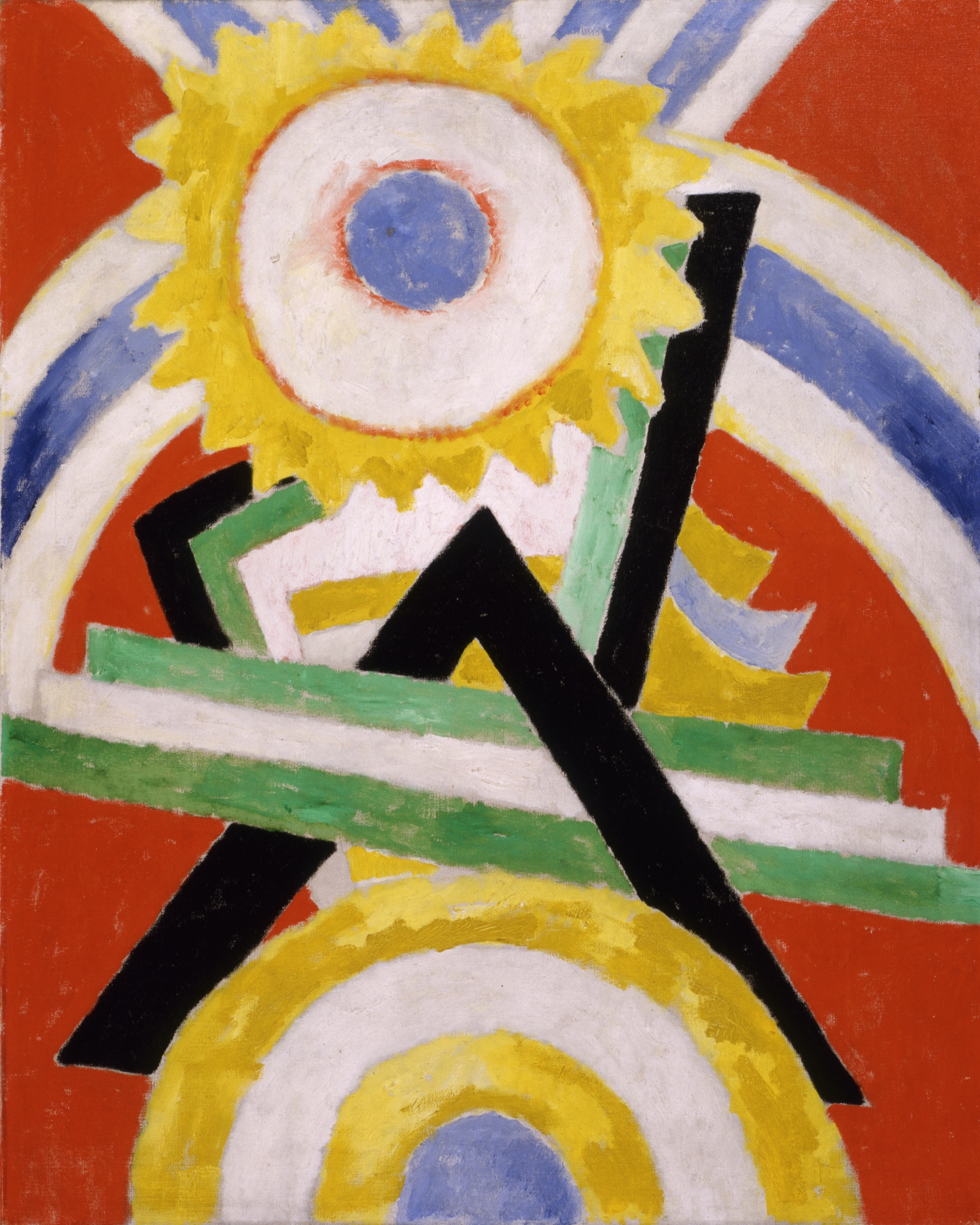 Marsden Hartley, Pre-War Pageant. 1914. Gift of Ferdinand Howald