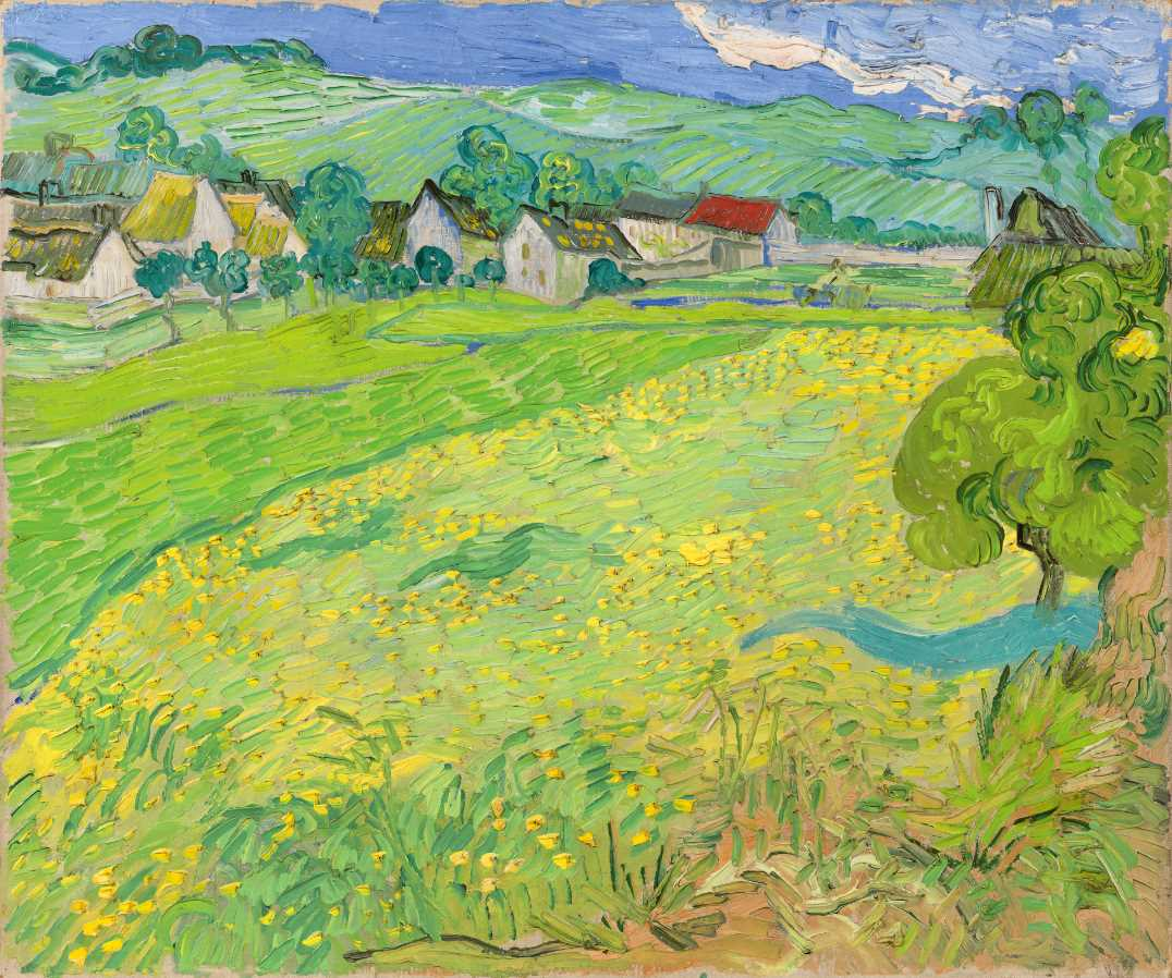 Vincent van Gogh (Dutch, 1853–1890), Les Vessenots in Auvers, 1890. Oil on canvas, 21 5⁄8 × 25 9/16 in. Museo Nacional Thyssen-Bornemisza, Madrid, inv. no. 559, 1978.41. COPYRIGHT © Museo Nacional Thyssen-Bornemisza. Madrid.