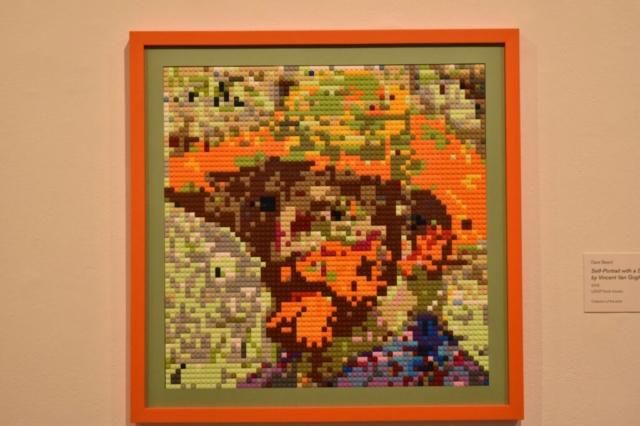 LEGO® brick mosaic by Dave Beard