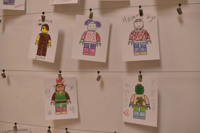 Think Outside the Brick: The Creative Art of LEGO® minifigure drawings