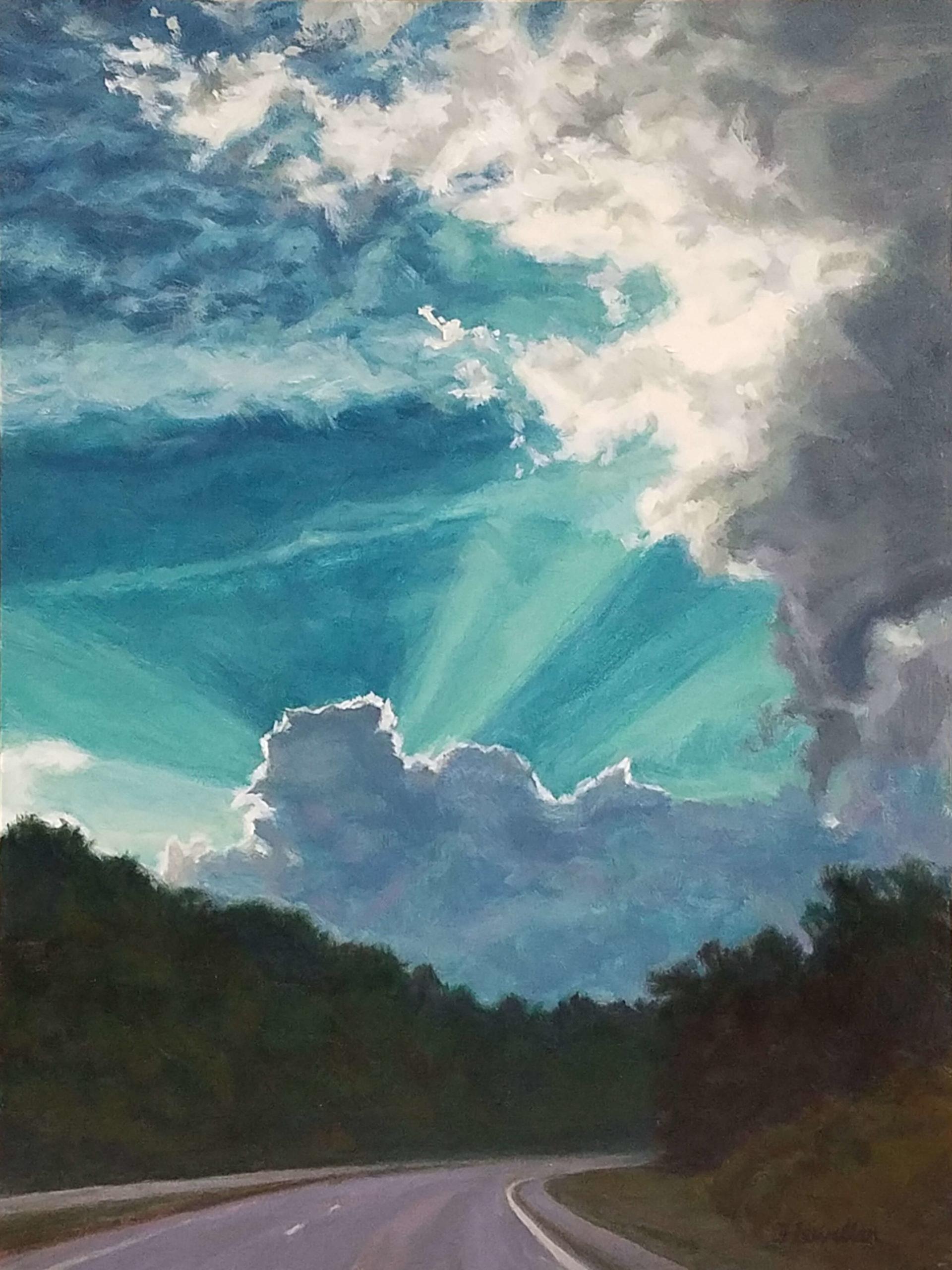Jane Flewellen - Into the Sunset