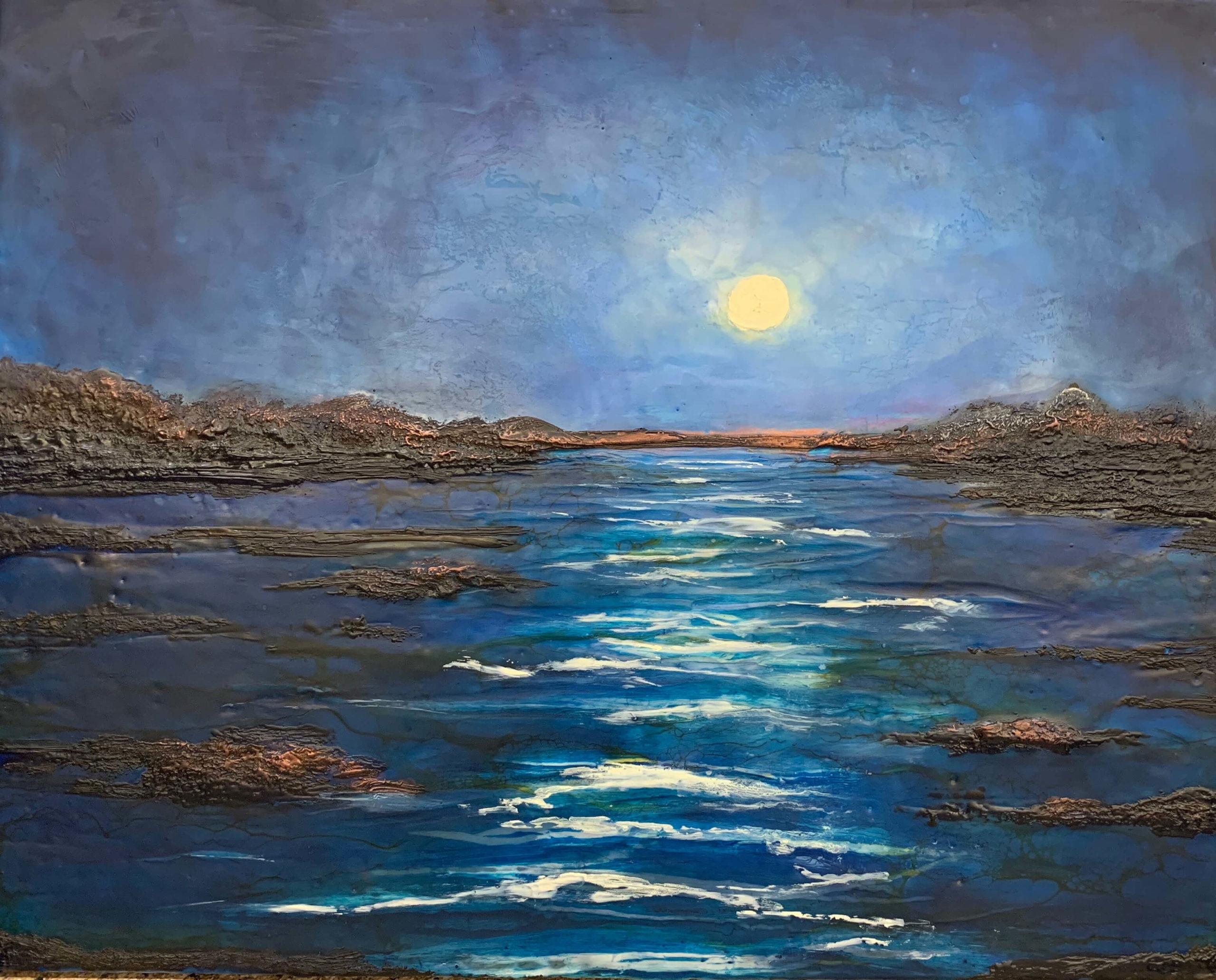 Bev Goldie - Moonlit Cove